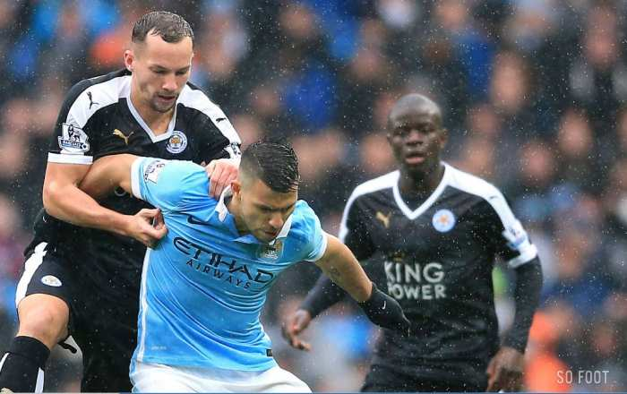 Leicester renvoie City dans sa Huth