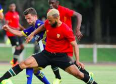 Lens fait match nul contre Arsenal
