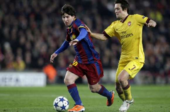 Leo Messi contre Arsenal