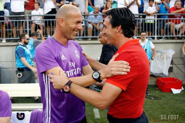 Les 21 matchs d'Unai Emery contre le Real Madrid
