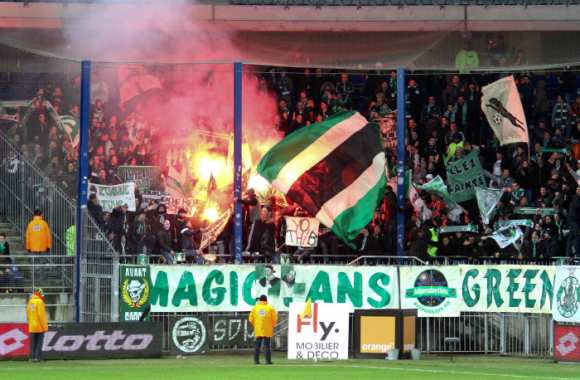 Les Green Angels de Saint-Étienne.