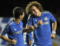 Oscar et David Luiz