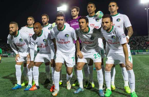 Les New York Cosmos, en 2015