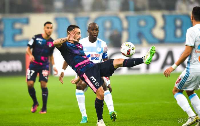 Les notes de Bordeaux face à Marseille