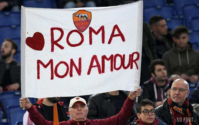 Les notes de l'AS Rome