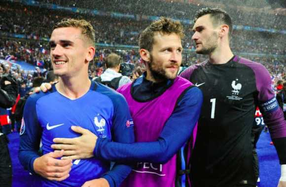 Les notes de la France face à l'Islande