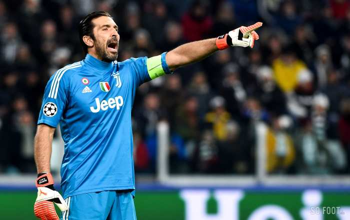 Les notes de la Juve contre Tottenham