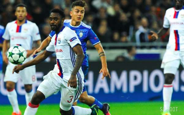 Les notes de Lyon face à la Juve