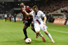 Les notes de Lyon face à Nice