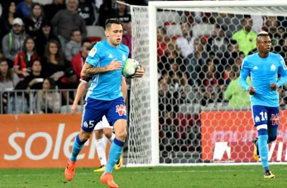 Les notes de Marseille contre Nice