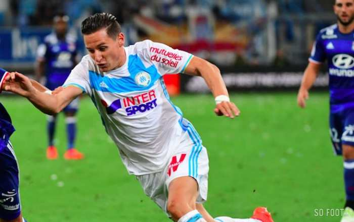 Les notes de Marseille face à Lyon
