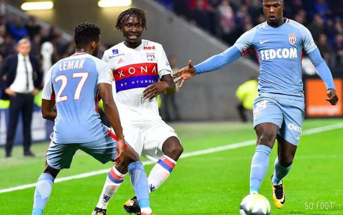 Les notes de Monaco contre Lyon