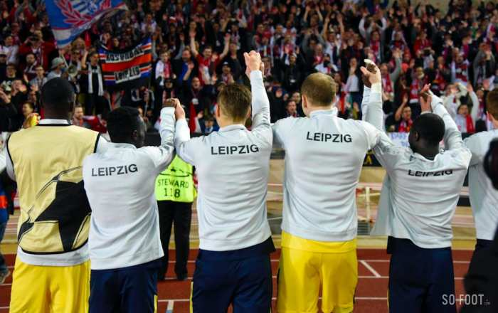 Les notes de Monaco face à Leipzig