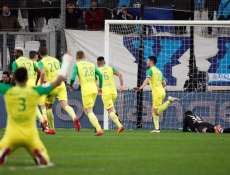 Les notes de Nantes contre Marseille