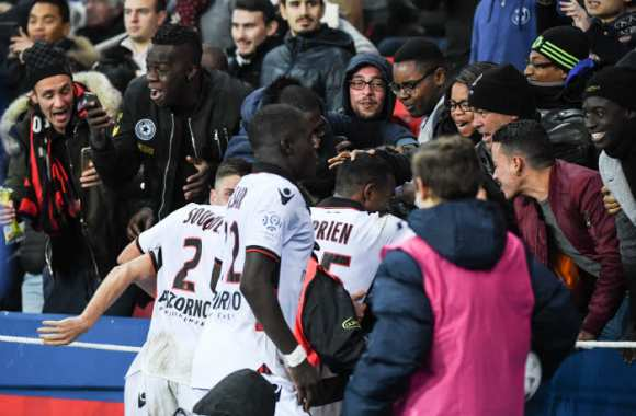 Les notes de Nice contre le PSG