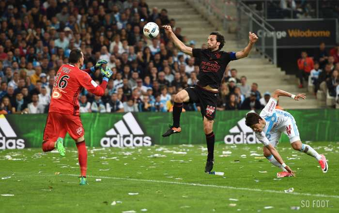 Les notes de Nice face à l'OM