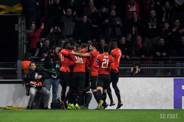 Les notes de Rennes face au Betis