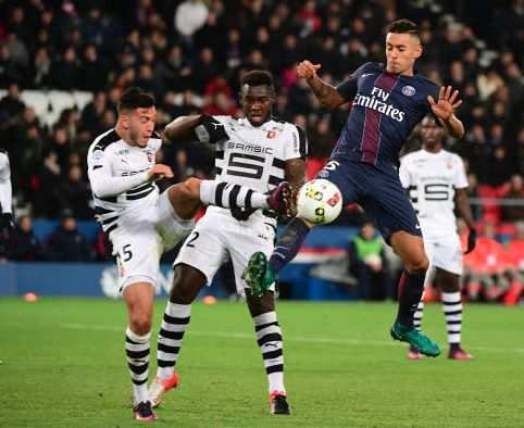 Les notes de Rennes face au PSG