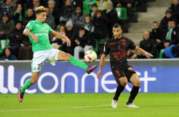 Les notes de St-Étienne face à Nice