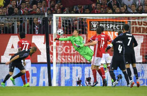 Les notes du Bayern contre le Real