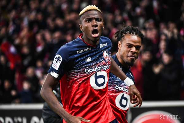 Les notes du LOSC face à Marseille
