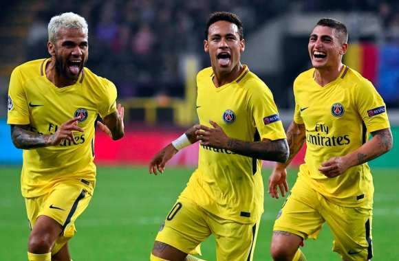 Les notes du PSG contre Anderlecht