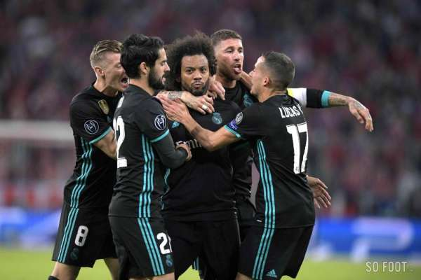 Les notes du Real Madrid face au Bayern Munich