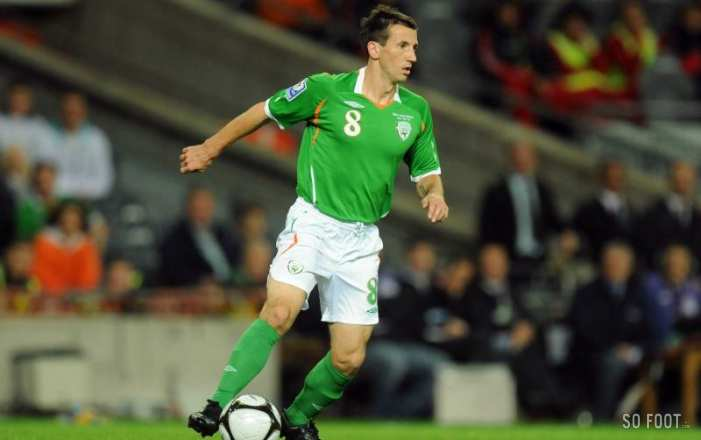Liam Miller se bat contre un cancer