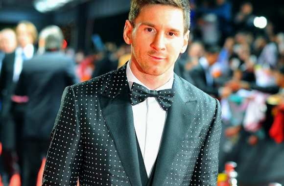 Lionel Messi à la remise du Ballon d'or 2012