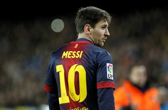 Lionel Messi (Barcelone)