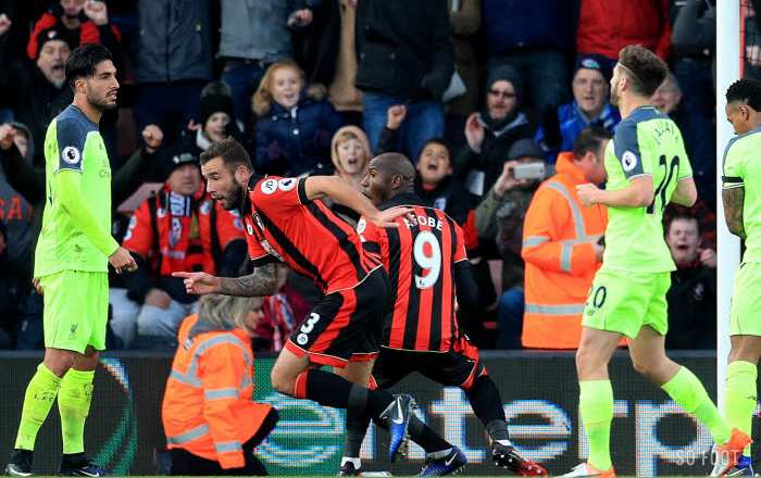 Liverpool explose à Bournemouth