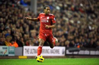 Liverpool prostitue Glen Johnson