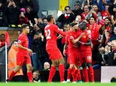 Liverpool rejoint Arsenal au sommet de la Premier League