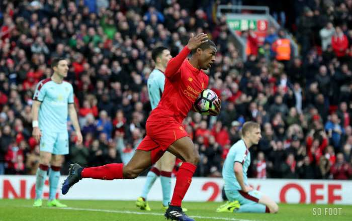 Liverpool renverse Burnley