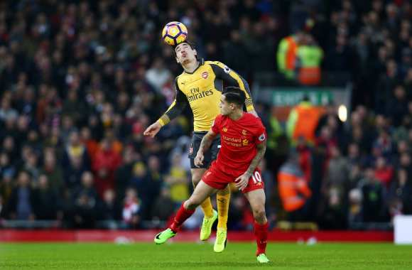 Liverpool ronge les Gunners