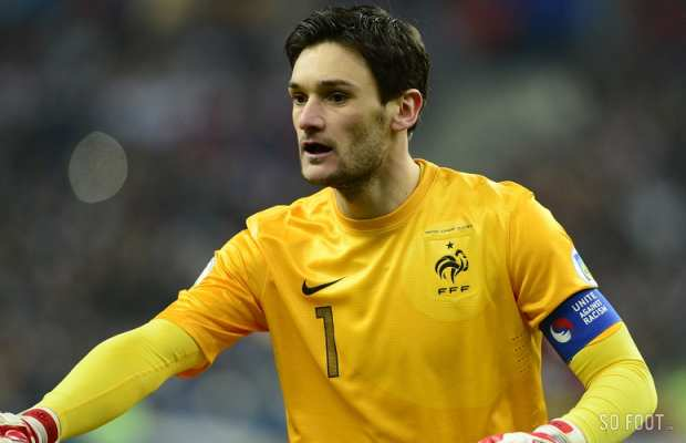 Lloris, capitaine casquette