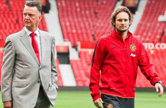 Louis van Gaal et Daley Blind