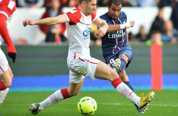 Lucas Moura (PSG) contre Nancy