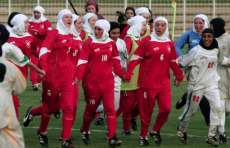 Madame football club à Téhéran