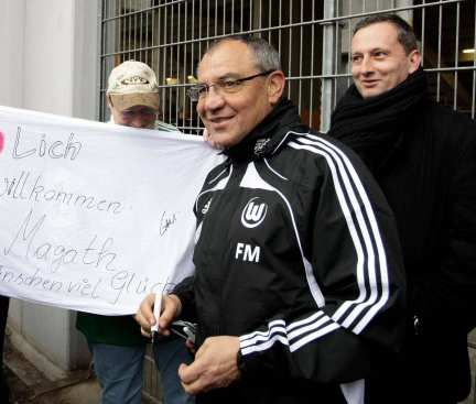Magath, distributeur d'amendes