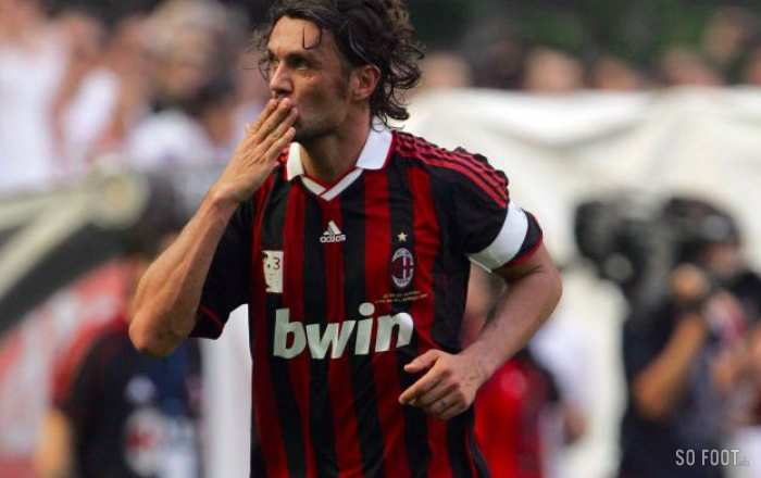 Maldini remporte le One-Club Man Award