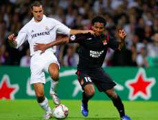 Malouda face au Real Madrid