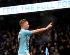 Man City blinde Kevin De Bruyne