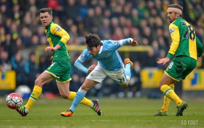 Manchester City sans inspiration à Norwich
