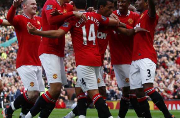 Manchester, le rouge dominant