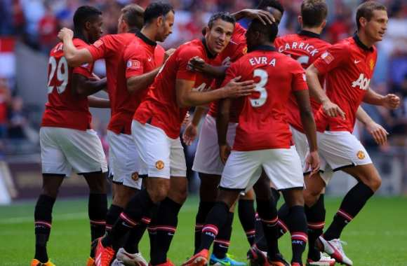 Manchester United remporte le Community Shield