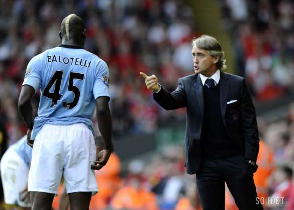 "Mancini : ""Balotelli ? Fantastique !"""