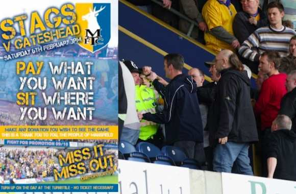 Mansfield Town comme Radiohead