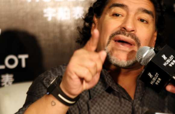 Maradona veut coacher en Chine
