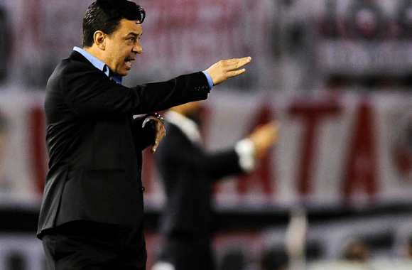 Marcelo Gallardo, coach de River.